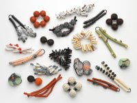Group of brooches by Natural Selection