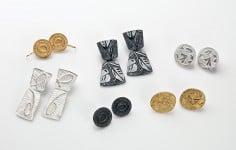 Remnant & Relic earrings by Julie Blyfield