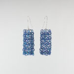 Linked earrings by Carlier Makigawa
