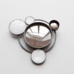 Spiegel brooch by Jiro Kamata