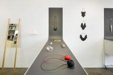 Installation  by Mari Funaki Award for Contemporary Jewellery