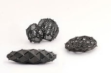 Three brooches by Concurrence